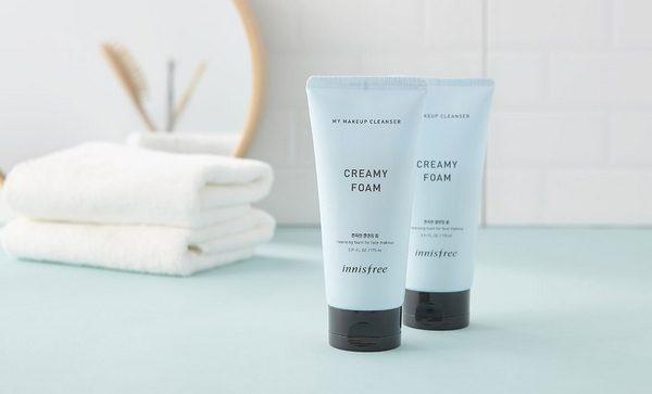 Sữa rửa mặt Innisfree My Makeup Cleanser - Creamy Foam 175 mL
